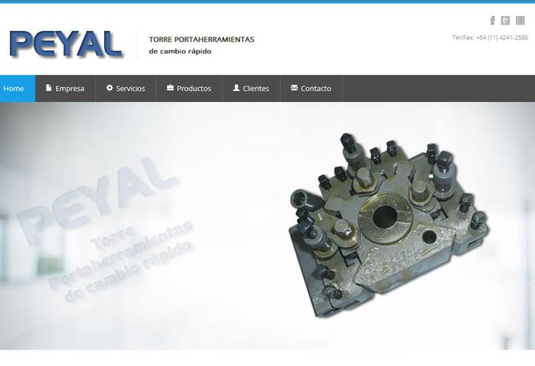 Diseño web Peyal
