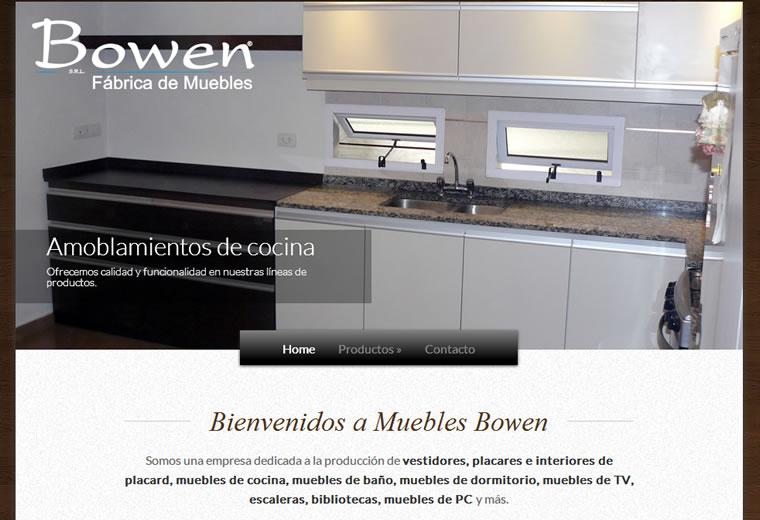 Muebles bowen dise o web zona oeste for Fabrica de muebles de oficina zona oeste