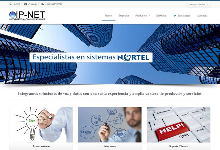 Diseño web IP-Net