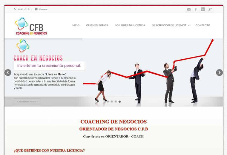diseño web CFB