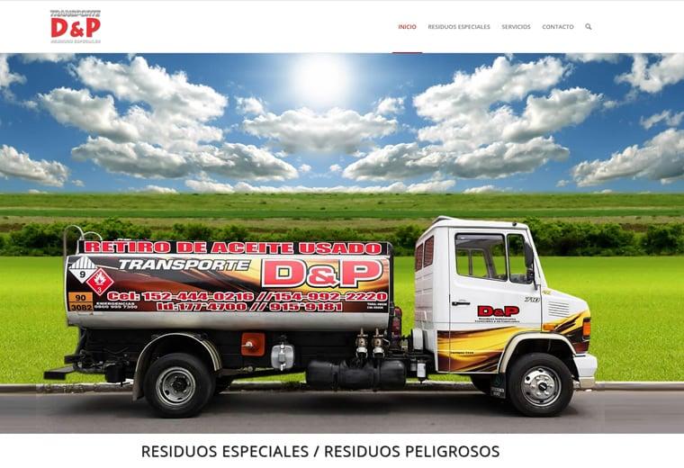 Diseño web Residuos Especiales