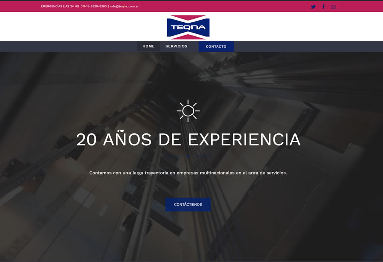 Diseño web Teqna