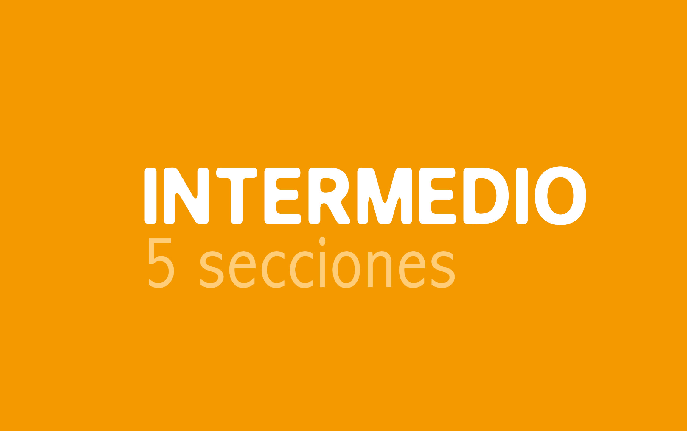 Plan de diseño web Intermedio