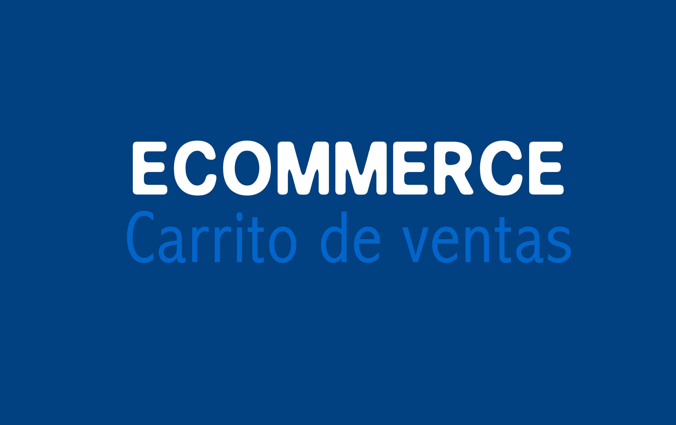 Plan diseño web Eccomerce